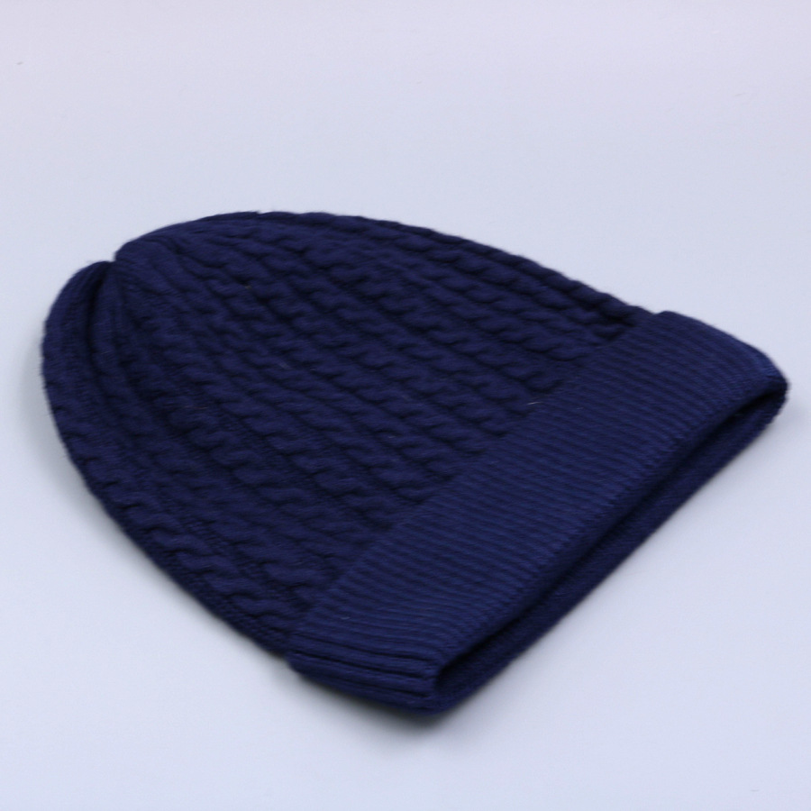 Women's Winter Hat Knitted Wool beanies Skullies Female Causal Mask Ski Thicker Warm Pompon Hats For Women  (12)