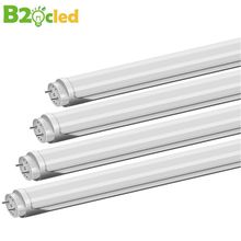 1Pcs T8 LED Tube 600mm 10W LED Integrated Tube 2FT AC85-265V G13 SMD2835 LED Light Super Bright 1000lm double-ended power supply(China)
