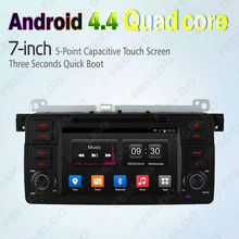"1024*600 HD 7"" Android 4.4.4 Quad Core Car DVD GPS Radio Head Unit 3G Wifi For BMW 3 Series E46/M3 / 3 Series MG zT/Rover 75"
