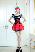Halloween Costume Skeleton Cosplay Switch Pirate Party Cosplay PS0005Easter carnival Day