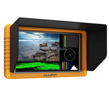 "LILLIPUT Q5 5.5"" FHD SDI Monitor 1920 1080 Full HD Waveform PIP Column YRGB peak SDI and HDMI cross conversion Metal housing(China)"