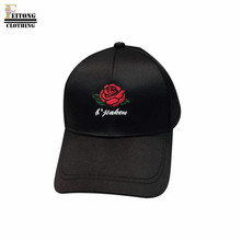 FEITONG 2017 Pink Black White Women Embroidery Cotton Baseball Cap Snapback Caps Hip Hop Hats(China)