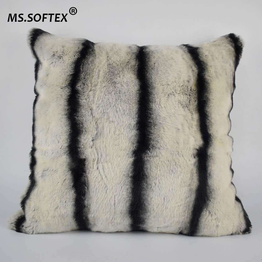 rex rabbit fur pillow logo 8