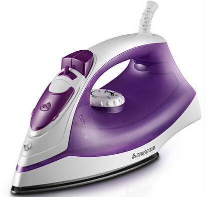 good quality and performance 1100W  5 shifts steam dry iron 80g/min fast spray steam 1.8m cable 200ml tank<br>