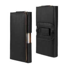 Belt Clip PU Leather Waist Holder Flip Pouch Case for Blackberry 9350 Curve/9930 Bold/9900 Bold Drop Shipping(China)