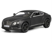 RMZ City Bentley Continental 1/36 Scale 5 Inch Diecast Vehicles Model Car Toys Best Gift for Children