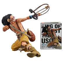 One Piece King of Artist Usopp PVC Figure Japan Anime 2017 Collectible Mascot Kid Toys 100% Original