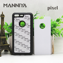 MANNIYA Blank Sublimation rubber Case for HTC pixel/pixel XL/10 EVO with Aluminum Inserts 20pcs/lot(China)