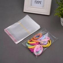 1000pcs clear boppcellophane bag 6x8cm62 transparent opp gift bags