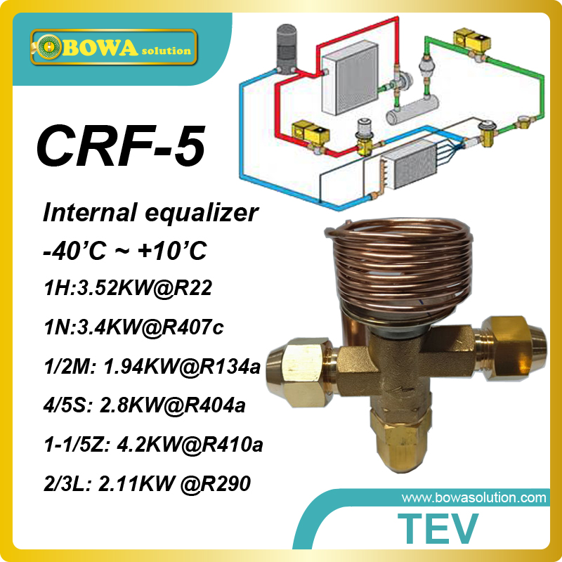 CRF-5 R407c  1TR thermal expansion valve with SAE flare connection designed for kitchen equipments of resturant or hotel<br><br>Aliexpress