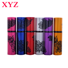 XYZ 1Pcs 10ML Mini Portable Spray Bottle Empty Perfume Bottle Colorful 5CC Refillable Perfume Atomizer Travel Accessories