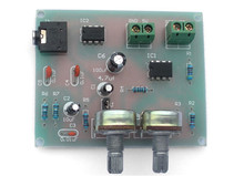 Diy Kit Audio power amplifier circuit installation and debugging Suite (LM358+TDA2822)  Electronic suite