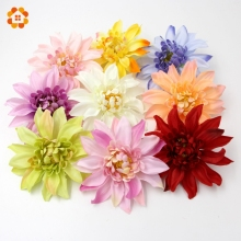 5PCS DIY Colorful High Imitation Artificial Fashion Chrysanthemum Silk Flowers For Home Garden Wedding Party Decoration Flowers