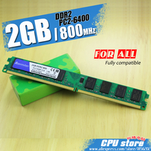 New 2GB DDR2 PC2-6400 800MHz For Desktop PC DIMM Memory RAM 240 pins (For intel amd) Fully compatible System High Compatible(China)