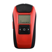 Multifunctional Wall Detector Handheld LCD Wall Stud Finder Metal Wood Studs AC Cable Live Wire Scanner Detector Tester(China)