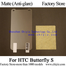 Matte Anti-glare Screen Protector Guard Cover protective Film Shield For HTC Butterfly S DLX PLUS 9088 919d 9060 901s 910e(China)