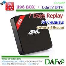 Watch Japanese Live TV Uchi IPTV APK+4K UHD Android Set-Top Box 7 days Review 50+ channels Free Trial Better Than Ihome DHL Ship