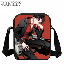 VEEVANV 2017 Anime Attack on Titan Mini Purse Messenger Bags Girls Small School Shoulder Bag Kids Casual Children Croboddy  Bags