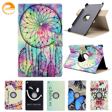 "360 Rotating Case for Amazon All New Kindle Fire HD 8 2016 6th generation 8"" Tablet Case Leather Case Smart Cover with Card Slot"