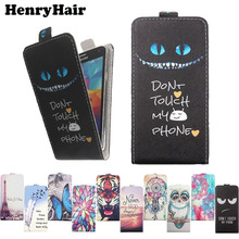 "For DEXP Ixion X145 Nova X147 Puzzle X155 X250 OctaVa E 4"" Phone case Painted Flip PU Leather Holder protector Cover"