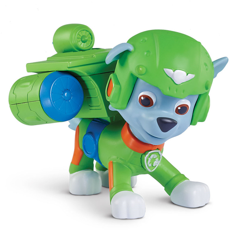 Action Pack Pup Set Marshall PAW PATROL Rubble /& Skye 3 Figuras Acci/ón La Patrulla Canina