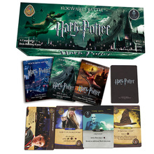 408 PCS/SET Harry Potter English Edition Playing Game Collection Card Toys For Kids Gift Voldemort Hermione Action Figures(China)