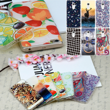 Fashion Flowers Pattern Cover Case For Xiaomi Mi5 Mi4C Mi4i Redmi Note 3 4 3 Pro 3S 3X Phone Cases Animals Fruits TPU Shell