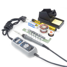 New  908D 220V 65W Heated iron LED Digital Display Soldering Station Iron+ Many welding gifts