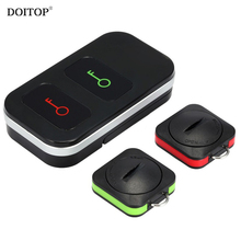 DOITOP 2 Key Chain Anti-lost Device Car Key Locator Phone Key lock Anti-lost Smart Finder Wireless Remote Control Transmitter