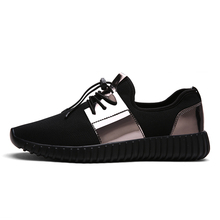 New 2017 Spring Autumn Breathable Paillette Shoes Women Flats Lace-up Fashion Womens Casual Shoes Plus Size 42 Brand Shoes Y099