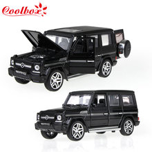 Coolbox AMG G65 Diecast Metal Car Toys 1:32 Scale Pull Back Simulation Alloy Cars Acousto-optic Auto Model Collection Cars