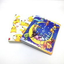 2017 Pikachu Collection 324 Pokemon cards Album Book Top loaded List playing pokemon cards holder album toys for Novelty gift