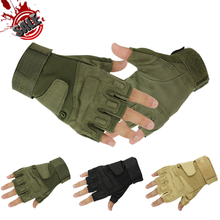 Blackhawk Hell Storm Tactical Army Combat Airsoft Shooting Military Bicycle Fingerless Paintball Half Finger Gloves