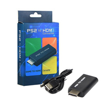 2017 Hot Sale PS2 to HDMI Audio Video Converter Adapter 3.5mm Audio PS2 Player To HDMI Connecter For HDTV Support 480i 576i 480P