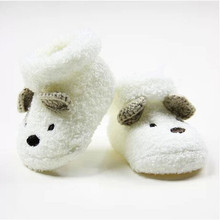Thick new born Solid Baby Socks Bear Baby Boys Toddler Autumn Winter Baby Girls Sock  Magic Socks