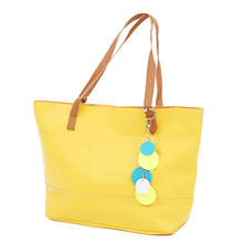 Sweet-Color Women girls Satchel Handbag Shoulder Tote Bag Lady Bag Shopper yellow