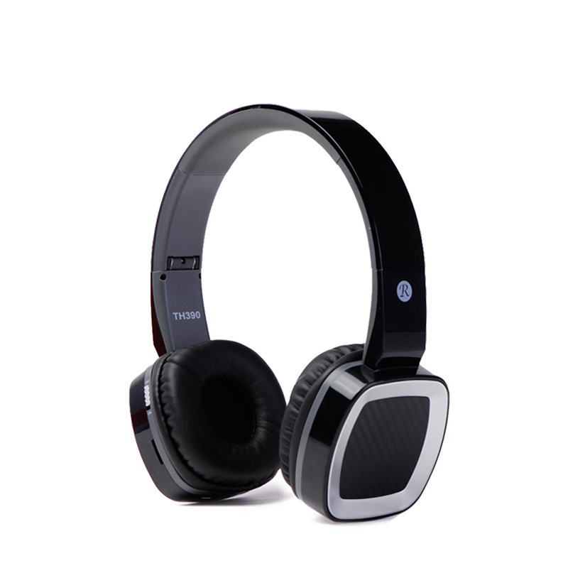 Foldable Wireless Headphones Earphone Music Sport Bluetooth Headset with Mic for iPhone Samsung HTC Support TF Card and FM Radio<br><br>Aliexpress