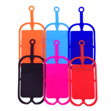 JINHF 1Pcs colorful Silicone Lanyard Phone Accessories Phone Cases for Holder Sling Necklace Strap For iPhone 6/7(China)
