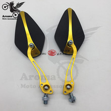 10mm 8mm colorful hot motorbike rearview mirrors side mirror motocross ATV Off-road moto scooter mirror motorcycle rearview moto