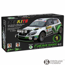 OHS Belkits BEL004 1/24 Fabia S2000 EVO Scale Assembly Car Model Building Kits