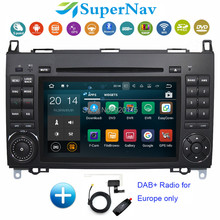 Android 7.1 7 Inch Car DVD Player Fit Mercedes Benz Sprinter B200 A/B-class W245 B170 W209 W169 3G Wifi Bluetooth DVD GPS Radio(China)