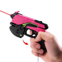 14cm Mini Hot Game Watch and Over D.Va Gun Halloween Cosplay Props Dva Weapon OW Prop Accessories Gun Toys for Children Gift
