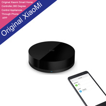 Original Xiaomi IR WiFi Intelligent Universal Infrared Remote Controller Switch Control Home Appliances Through Phone APP