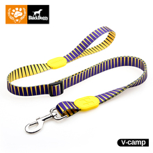 Outdoor 131cm Fashion Dog Leashes Profusion Pattern 100% Polyester Led Dog Leash Running For Pet With Zinc Alloy Hook HD010002(China)