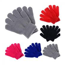 HOT Children Magic Glove Girl Boy Kid Stretchy Knitted Winter Warm Pick Colour