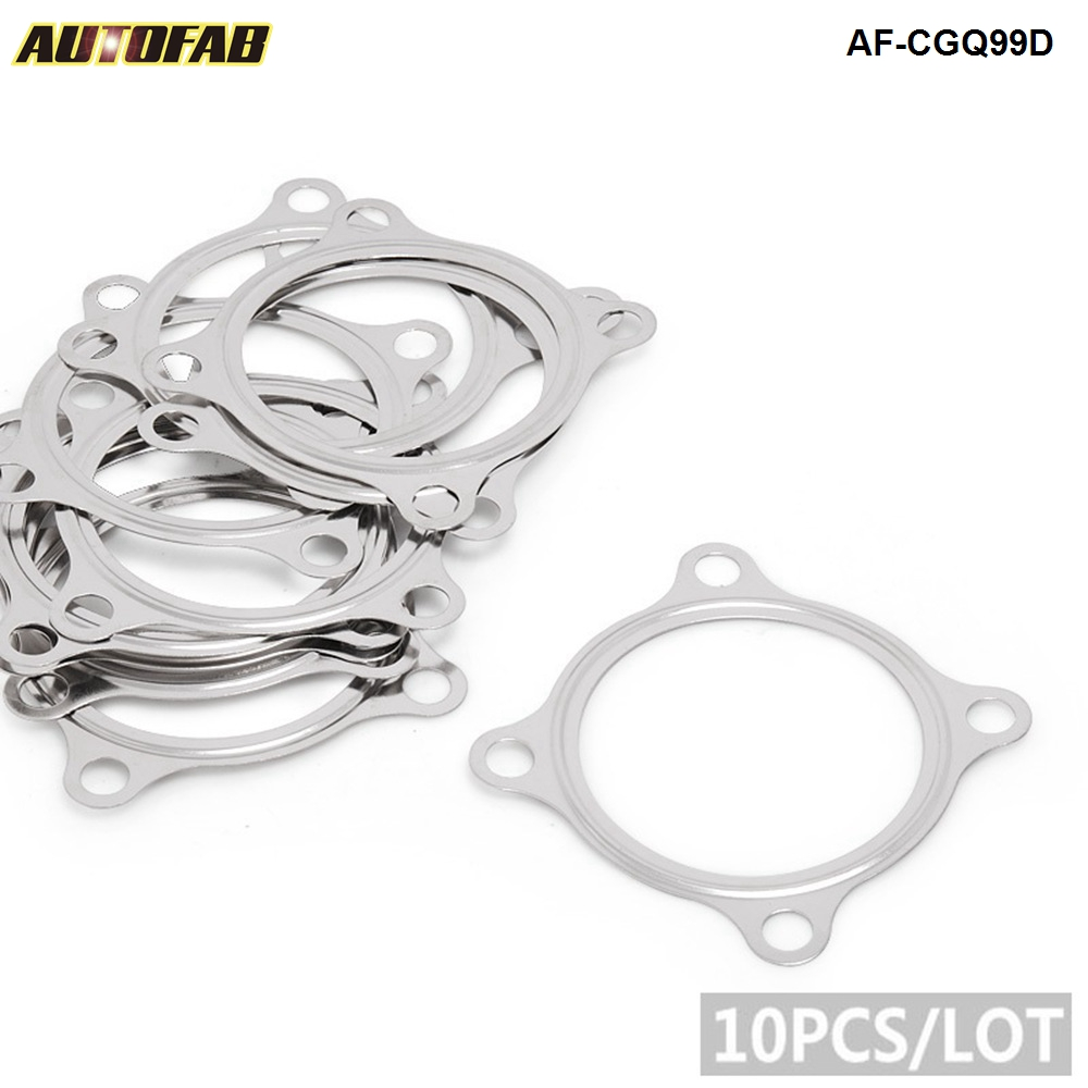 """GT30 GT35R GTX30 GT3582R Turbo 4 Bolt Downpipe GASKET 2.5""""Stainless Steel AF-CGQ99D"""
