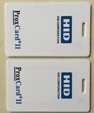 125khz H-ID PROX II Clamshell Card, access card, Rewritable RFID Proximity H-ID Thick Card 1326,WG26 format,min:1pcs(China)