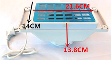 Manicure Table Nail Dust Collector With 2 Bags - Nail Vacuum Cleaner Machine 25W Nail Tools Nail Art Equipment(China)