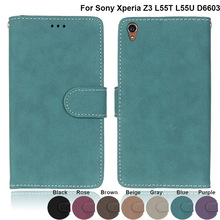 Buy Sony Xperia Z3 Case Cover D6603 D6643 D6653 D6616 D6633 L55T L55U Cases Leather Funda Covers Sony Xperia Z3 Z 3 Dual D for $4.32 in AliExpress store