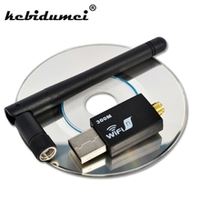 kebidumei Best Price!! 300Mbps USB WiFi Wireless Network WI-FI LAN Adapter & Antenna Computer Accessories(China)